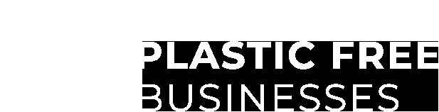 Plastic Free Businesses